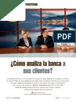 Cómo analiza la banca a sus clientes