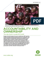 Accountability and Ownership