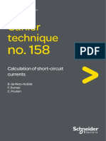 Schneider ECT158 Calculation of Short-circuit Currents