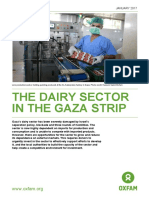 The Dairy Sector in the Gaza Strip