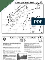 Calaveras Big Trees State Park Ski Map