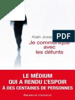 Bellet Alain Joseph Je Communique Avec Les Defunts