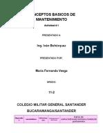 Conceptos Basicos de Mantenimiento Fernanda Vesga .PDF
