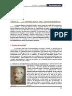 Filosofía. posibilidadconocimiento
