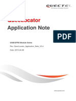 Quectel QuecLocator Application Note V3.4