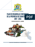 PLAN DE DESARROLLO CONCERTADO - CHANCHAMAYO 2007 - 2016 FINAL.doc