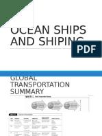 Ocean Ships and Shiping