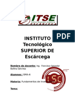 Edgar Cruz Gómez IMSA-6 PostgreSQL