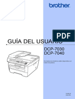 Manual de Usuario DCP7040