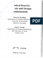 Reactor-chemical Reactor Analysis and Design