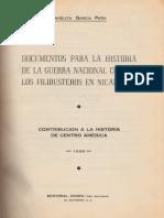 Documentos Para La Historia de La Guerra Nacional