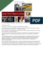Reseña Histórica Del Colegio Miguel de Santiago