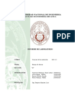 Informe N°1 Ciencias de los materiales I