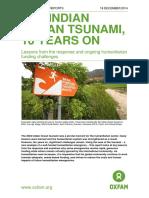 The Indian Ocean Tsunami, 10 Years On