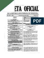 GACETA OFICIAL N° 37.310 LEY ORGANICA DEL PODER CIUDADANO