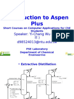 Introduction to Aspen Plus-2012