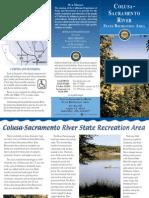 Colusa-Sacramento River State Recreaion Area Park Brochure