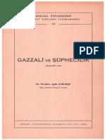 Gazzali Ve Suphecilik