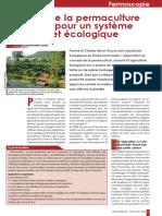 Alliance de La Permaculture Avec l Ab Pour Un Systeme Productif Et Ecologique