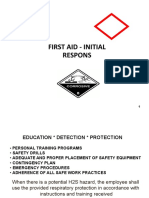 First Aid-Initial Response