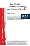 Carbon Dioxide Emissions, Technology, and Economic Growth