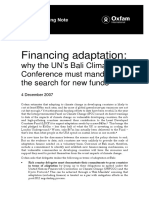 Financing Adaptation