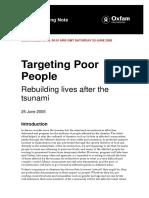 Targeting Poor People