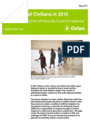 Protection of Civilians in 2010: Facts, Figures, and the UN Security Council's response