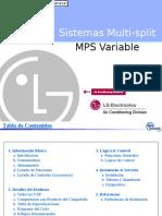 LG Sistema Multi Split MPS Variable