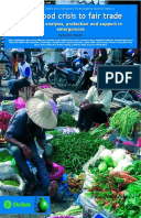 From Food Crisis to Fair Trade: Livelihoods analysis, protection and support in emergencies
