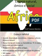 África Aspectos naturais econômicos e sociais