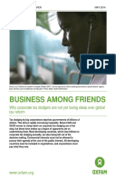 Business Among Friends: Why corporate tax dodgers are not yet losing sleep over global tax reform