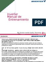 Lg Inverter Manual Entrenamiento