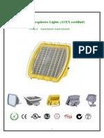 Luminhome LED Explosion Proof Light Data Sheet