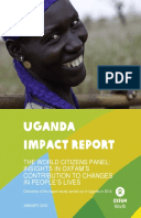 Uganda Impact Report: The World Citizens Panel