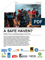 A Safe Haven? Britain's role in protecting people on the move