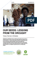 Our Seeds: Lessons from the drought. Voices of farmers in Zimbabwe