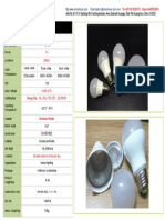 85V-277v led bulb7w /10w Energy saving star listed