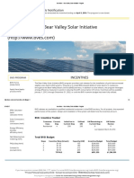 Bear Valley Solar Initiative Program - Solar Incentive (Closed)