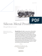 Chinese Silicon Metal Manufacturer
