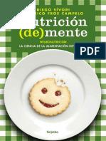 Nutricion (de) Mente