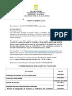 Termo de Retificação PSS 2017