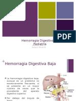 Hemorragia Digestiva en Pediatria