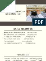 Kebijakan Kesehatan Nasional Haji