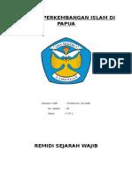 Sejarah Perkembangan Islam Di Papua