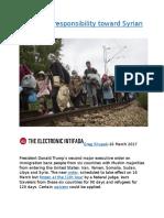 America's responsibility toward Syrian refugees.docx