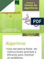 Algoritmos y Su Representación en Pseudocódigo y Diagrama de Flujo