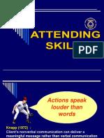 Attending Skills (Stdnt) Notes