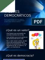 VALORES DEMOCRÁTICOSPRO