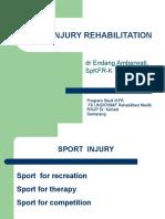 Sport Injury Dr Endang Ambarwati